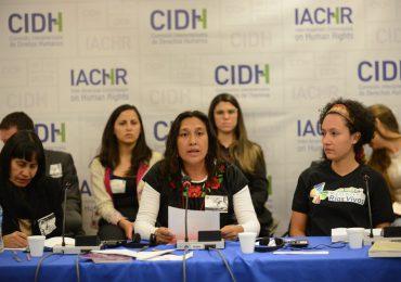 Primera Audiencia Regional ante la CIDH sobre criminalización a defensoras del territorio y el medio ambiente
