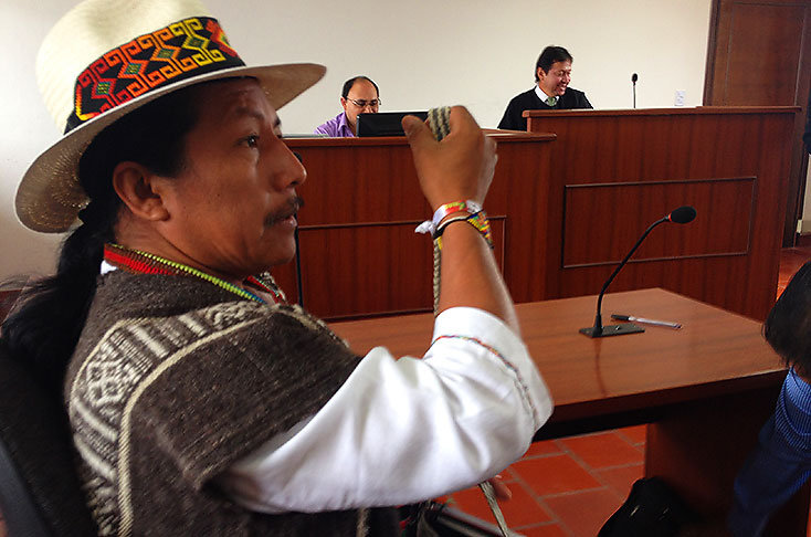 Feliciano Valencia será trasladado a centro de armonización indígena de Gualanday