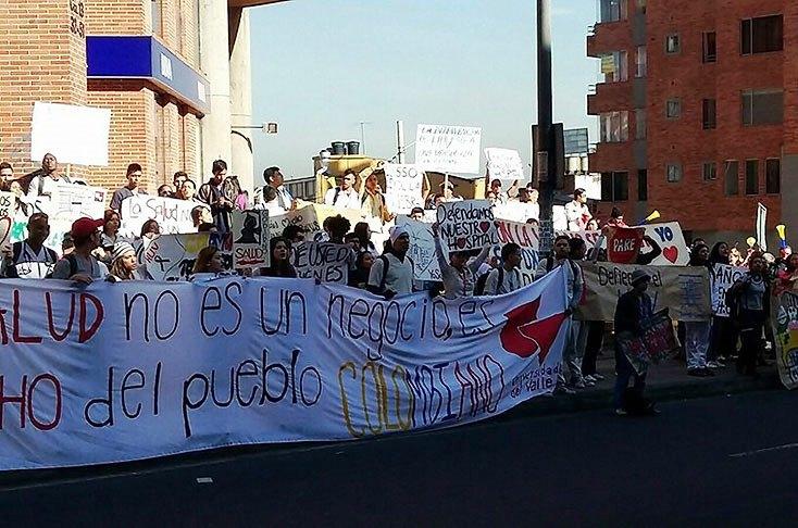Defensa del Hospital Universitario del Valle llegó a Bogotá