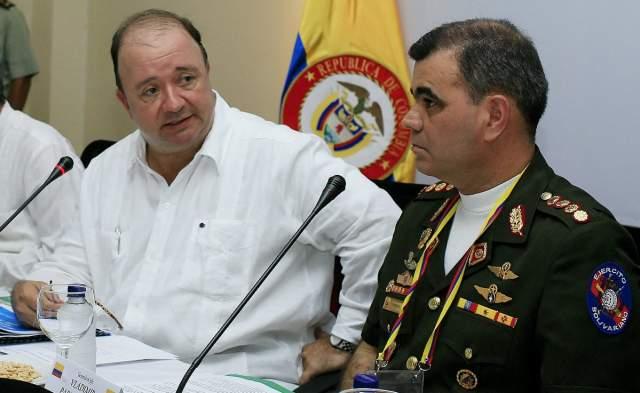 Ministros de Defensa de Colombia y Venezuela se reúnen en Santa Marta