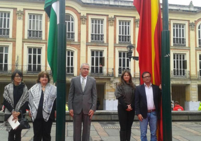 Bogotá y Palestina fortalecen lazos de hermandad