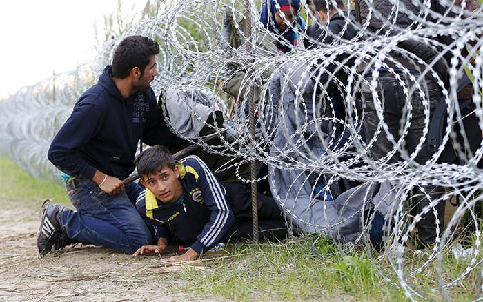 La guerra, el muro y el miedo