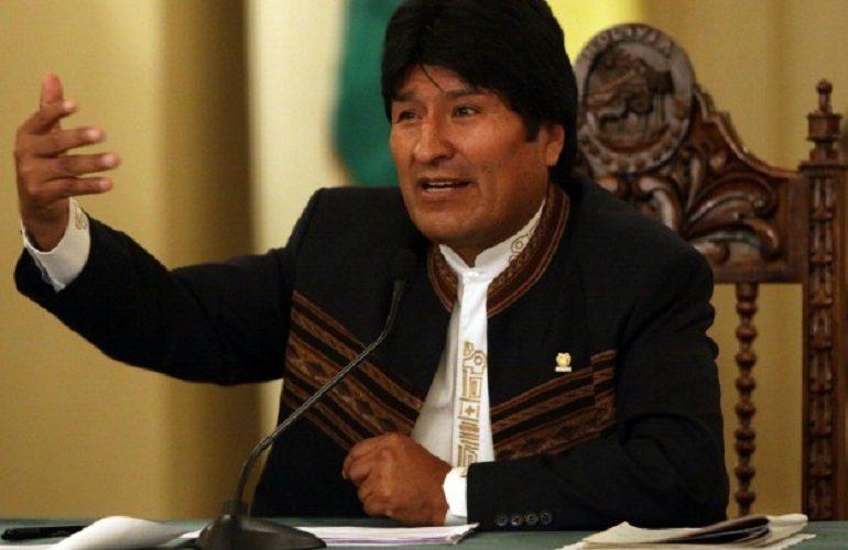Debemos trabajar de manera unida para protegernos de la crisis económica mundial: Evo Morales