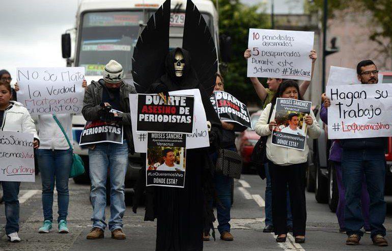 342 periodistas han sido asesinados entre 2006 y 2015 en América Latina