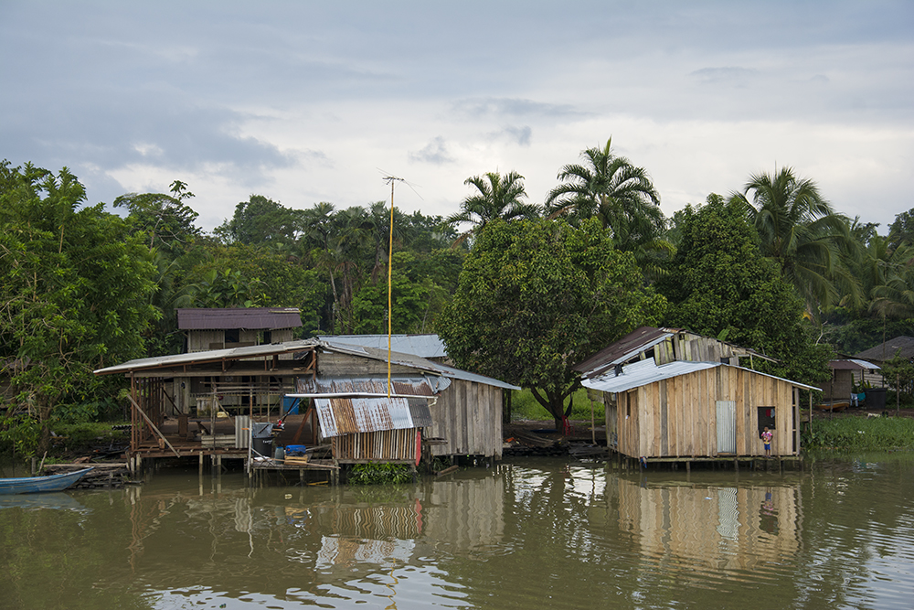 Primeras comunidades a la orilla del río San Juan