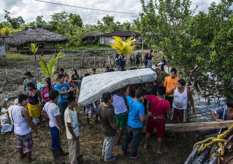 Comunidad indígena Unión Agua clara retorna sin garantías en el territorio