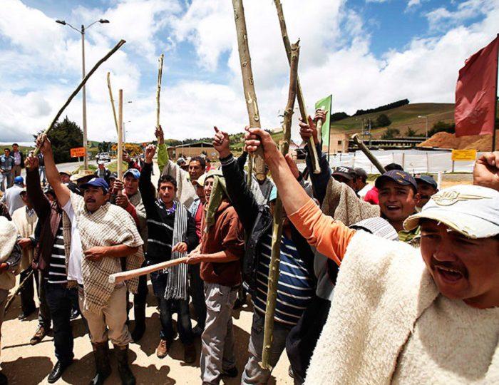 """Campesinos de Boyacá están cansados de """"comer tierra"""""""