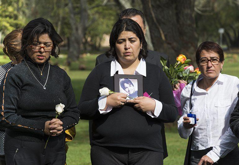 30 años después entregan restos de víctima del Palacio de Justicia
