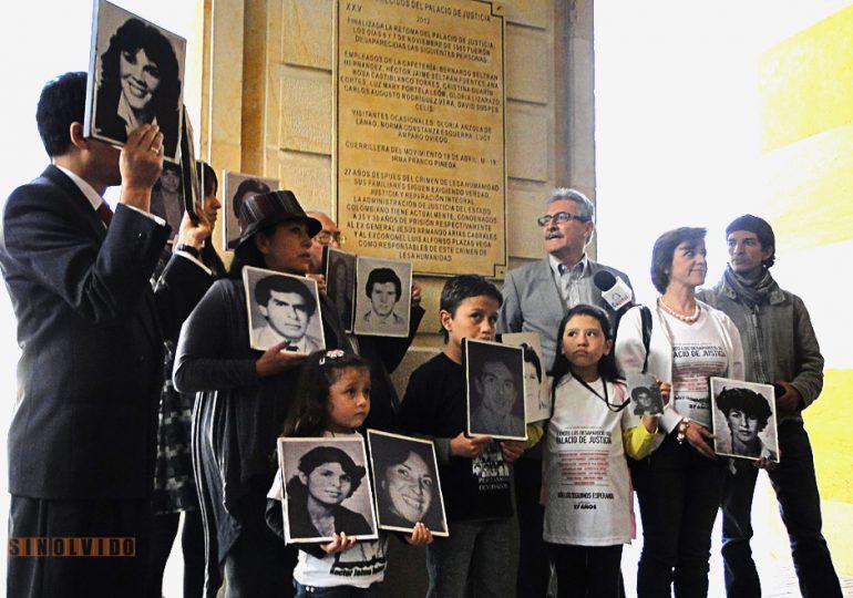 Controversia por placa que honra militares de la retoma del Palacio de Justicia