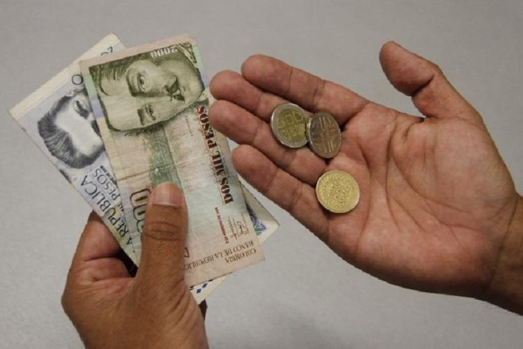 Salario mínimo en Colombia aumentó $30.723 para el 2021