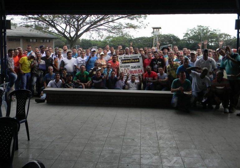 104 días en huelga duraron trabajadores de Goodyear en Yumbo, Valle