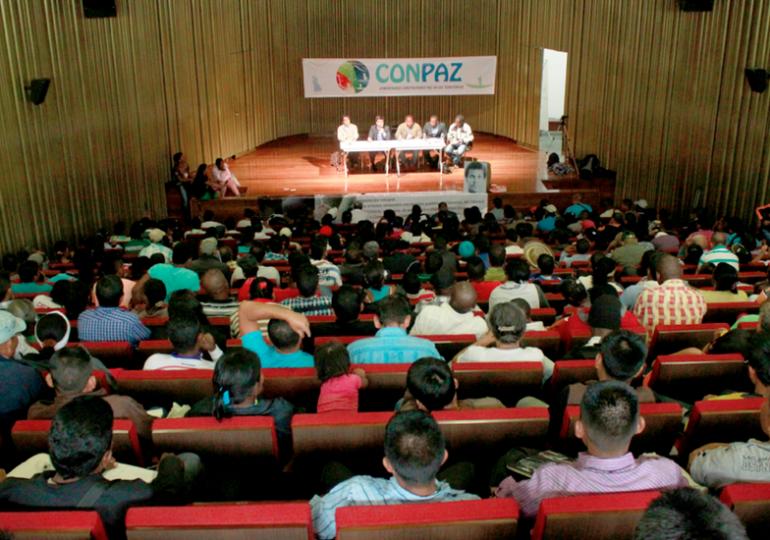 Paramilitares amenazan a integrantes de CONPAZ