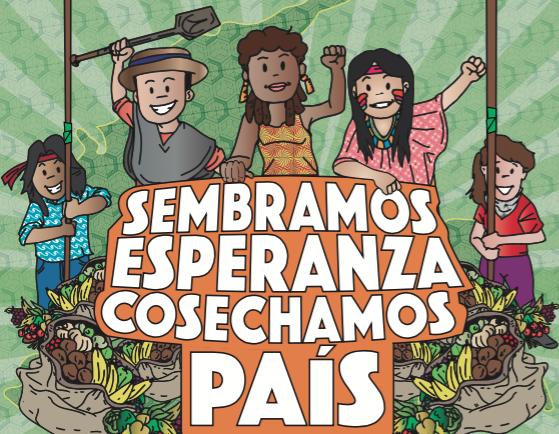 """Llegan las """"Cumbres de Paz"""" por el territorio colombiano"""