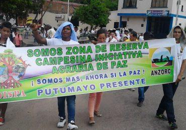 En riesgo Zona de Reserva Campesina Perla Amazónica, en Putumayo