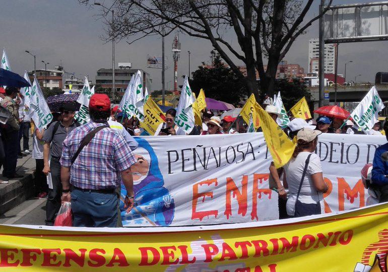 #Galería Así fueron las movilizaciones por Bogotá