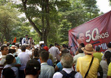El vía crucis del amor eficaz a 50 años de Camilo
