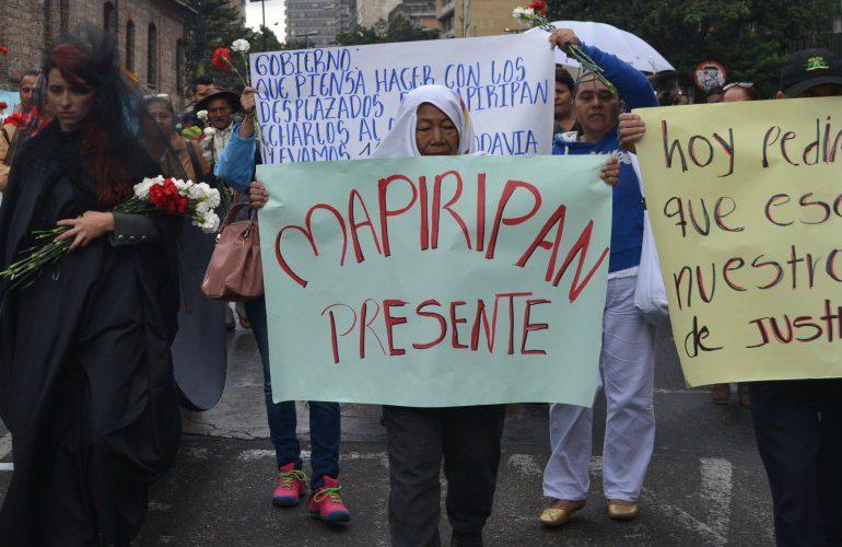 Mujeres de Mapiripán resisten al olvido tras 20 años de la masacre