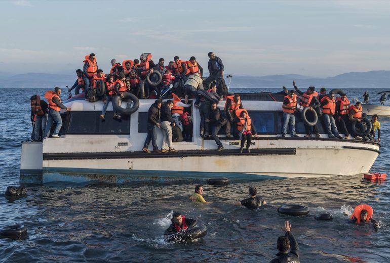 Lesbos, puerta a Europa