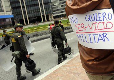 Por el derecho a decir: 'NO al servicio militar obligatorio'