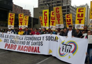 Sindicatos en Colombia votarán Si en el plebiscito por la paz