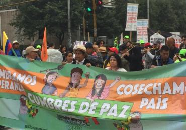 Gobierno Santos tiene desinterés por la vida: Cumbre Agraria