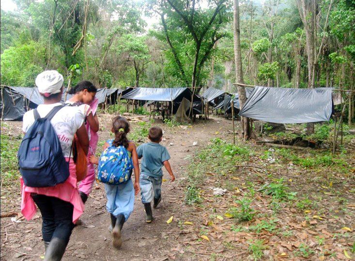 Amenazan al pueblo Sikuani del Meta con desalojo del ESMAD