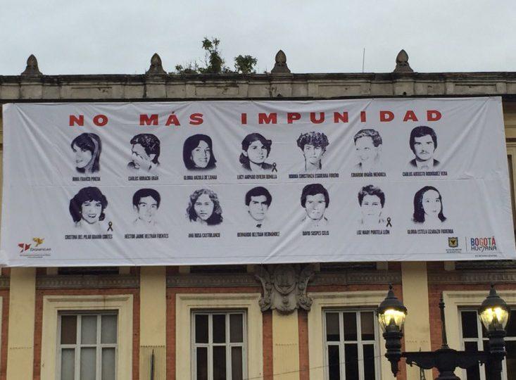 """""""El pacto del silencio"""" tras los 32 años de la toma y retoma del Palacio de Justicia"""
