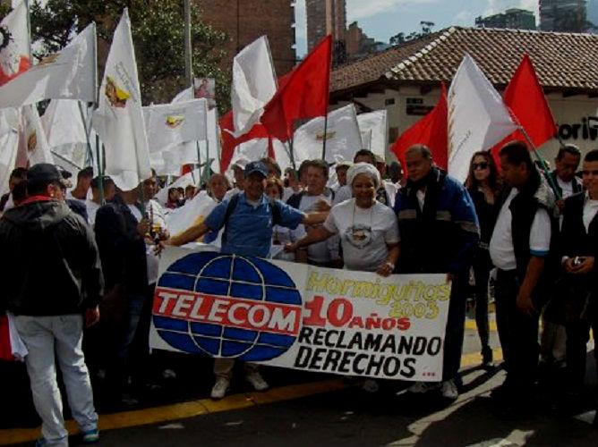 Sindicatos demandan ante Consejo de Estado liquidación de Telecom