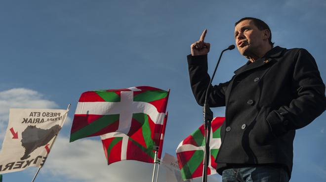 Izquierda Vasca celebra la libertad de Arnaldo Otegui