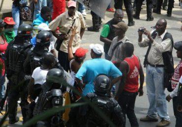 ESMAD deja varios heridos en marcha de comunidades negras en Cauca