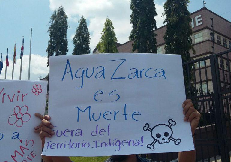 COPINH exige que bancos internacionales dejen de financiar proyecto Agua Zarca