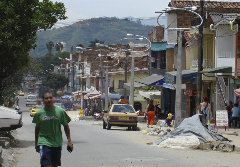 Un aporte a la paz urbana desde Castilla, Medellín