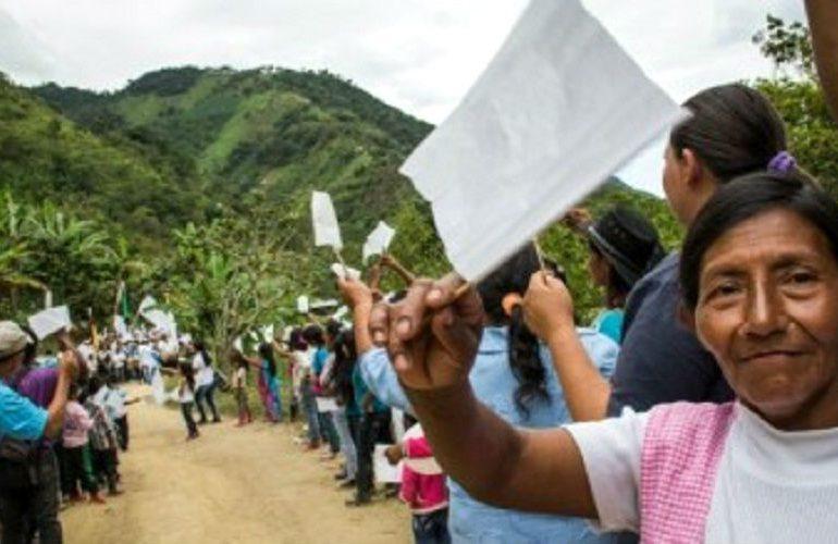 Comunidades piden cese al fuego y atención del Gobierno a problemas en los territorios