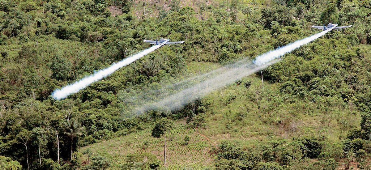 Aspersión aérea con glifosato, una estrategia fallida que se repite