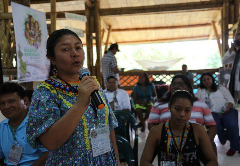 500 Mujeres indígenas del Chocó construyen política pública