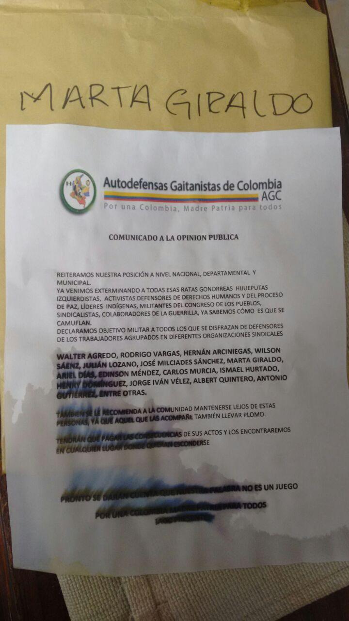 Panfleto AGC