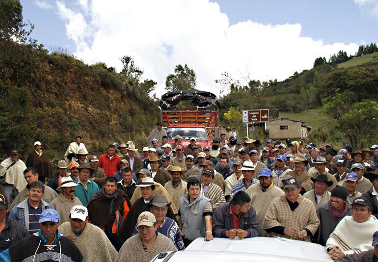 Campesinos piden reconocimiento de su labor en el censo poblacional