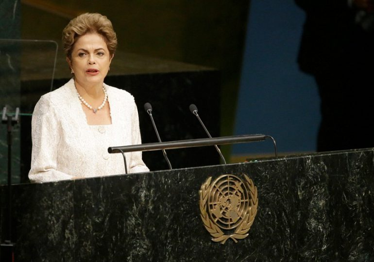 Rousseff denuncia golpe en su contra ante la ONU