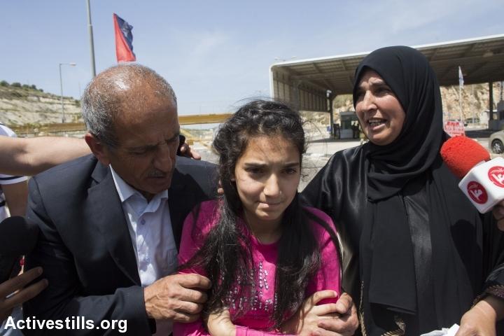 438 niñas y niños palestinos son prisioneros del régimen israelí