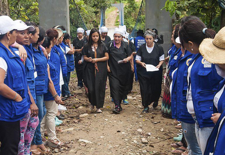 Mujeres del Putumayo, caminan por la Paz y la Memoria