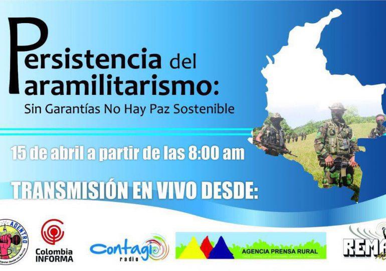 Audiencia Persistencia del Paramilitarismo en Colombia
