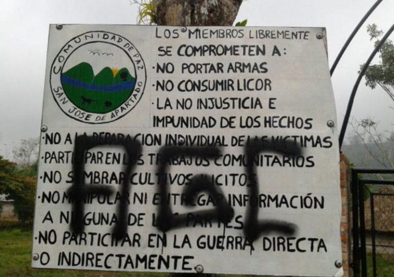 Paramilitares de AGC intimidan comunidad de paz y se asientan en territorio colectivo
