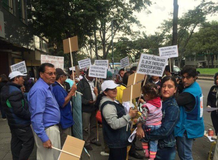 Administración de Peñalosa ha desalojado 640 vendedores informales