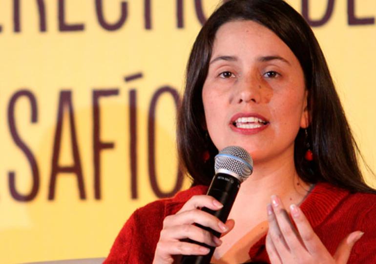 Verónika Mendoza y 'la visión del nuevo Perú'