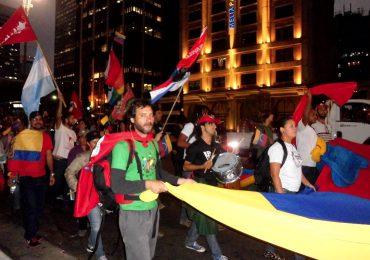 Solidaridad continental del ALBA se hace presente en Bogotá