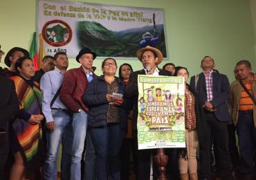 Cumbre Agraria reactiva mesa única con Gobierno Nacional