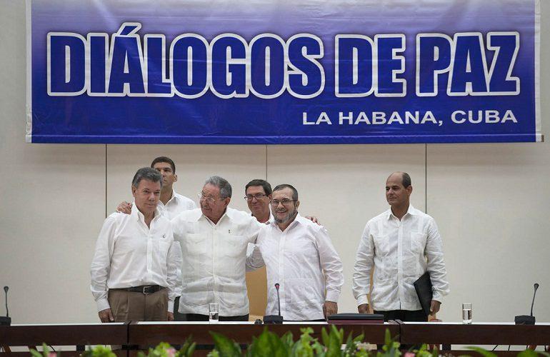 Delegaciones de paz anuncian sesión permanente desde el próximo martes