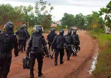 ESMAD y Policía antinarcóticos realiza erradicación forzada en Resguardo Nasa