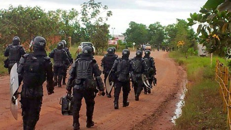 Fiscalía, ESMAD, Ejército y Policía arremeten contra comunidad La Garita en Bolívar