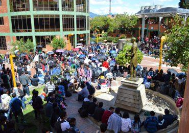 Movimiento estudiantil de la UDistrital no cederá ante presiones del Consejo Superior